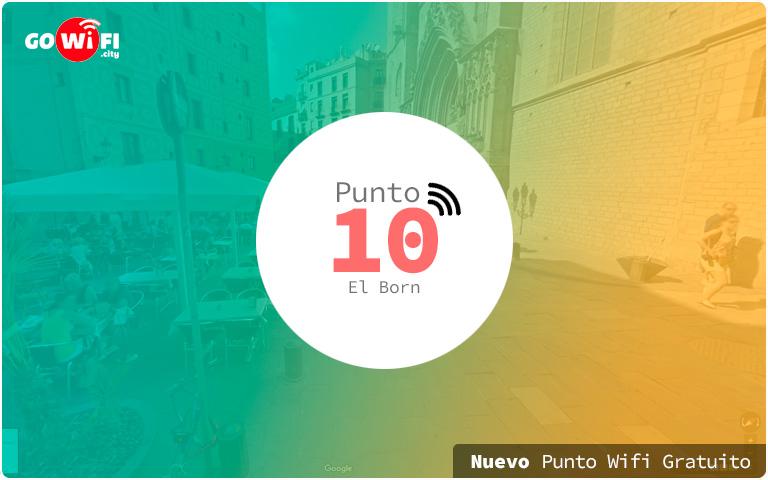 Nuevos puntos wifi gratuito en el Born