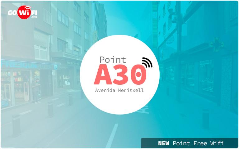 wifi gratuito Avenida Meritxell